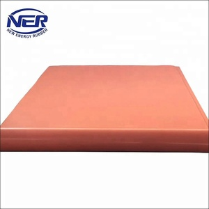 Cushion Pad for Hot Press Machine/red silicone board hot press cushion