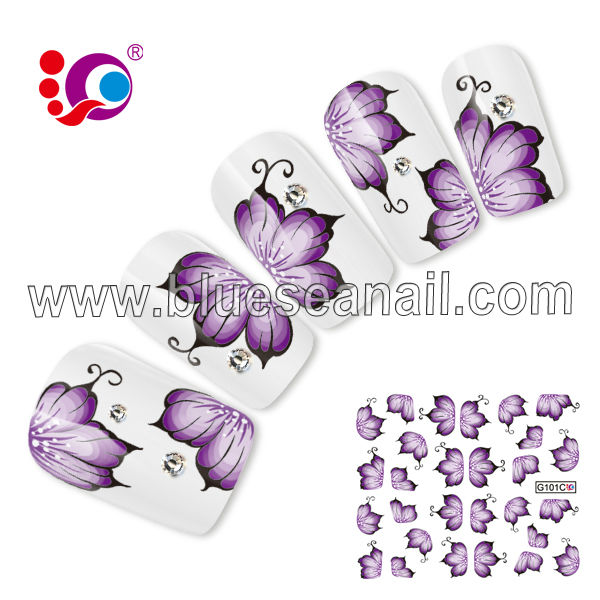 buy beautiful nail stickers give high quality nail art brush