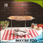 Antiaderente Pan Pizza & servindo Stand