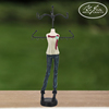 Mannequin Necklace Jewelry Holder Resin Mannequin Earring Jewelry Holder With Metal Hanger