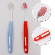 Wholesale U shape bristles orthodontic toothbrush