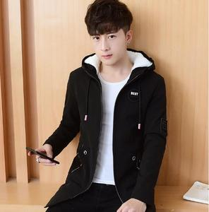2018 Korean new cotton-padded clothes middle school students wool coats