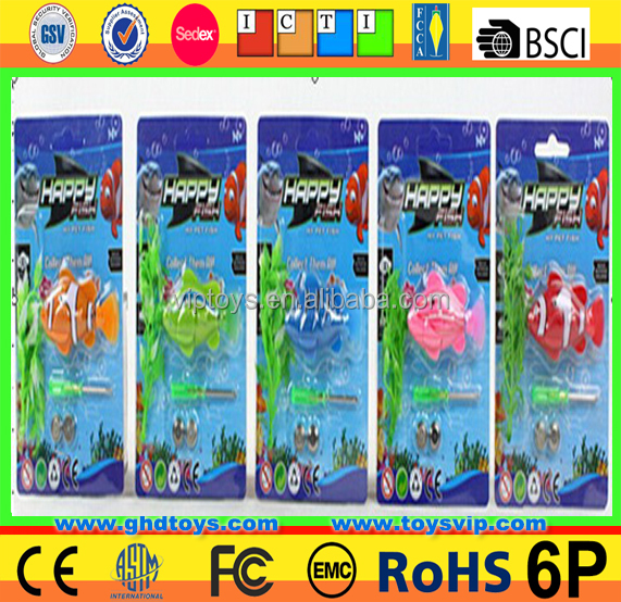 bettery Swims Nano Robotic Fish Toy plastic fish toys
