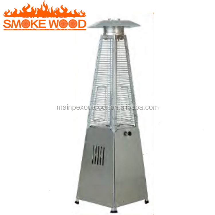 2018 Hot Sell Cheap Natural Gas Heater Glass Tube Pyramid Patio Heater