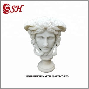 Factory Price Classic Designs woman and girl roman female white bust statue