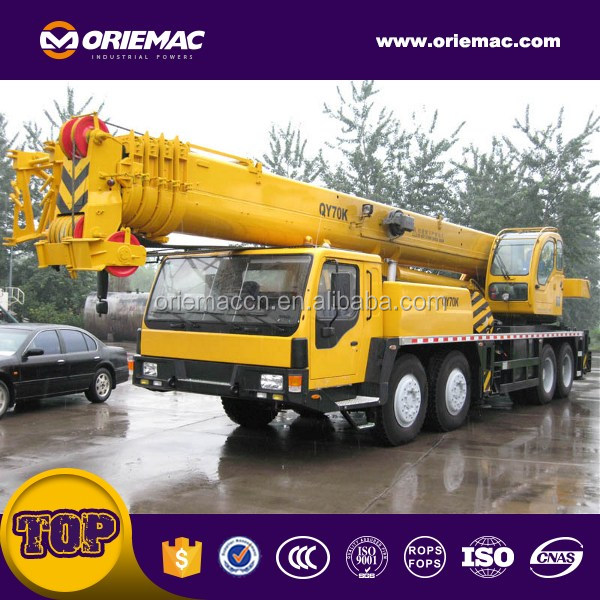 china top brand QY70K-I truck crane 70ton with cheap price