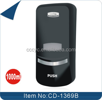 1000ml wholesale black bag refill hand sanitizer dispenser toilet hand soap dispenser cd1369b - Hand Soap Dispenser
