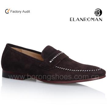 high quality men no laces casual shoes men boat shoes wholesale ...