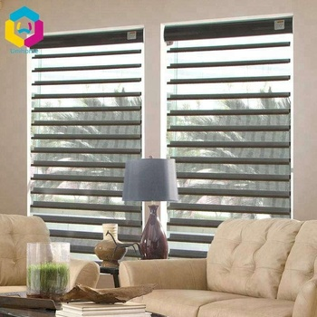 silhouette shade shangri la motorized blinds with solar panel battery motor shangrila blinds