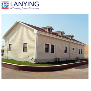 Good insulation low cost prefab houses poland with low price