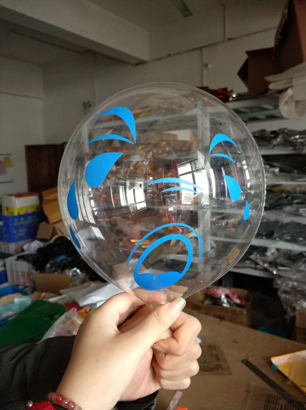 10,18,24 Inch New Arrival Round Clear Custom Printing Bubble Balloons For Party Decorations