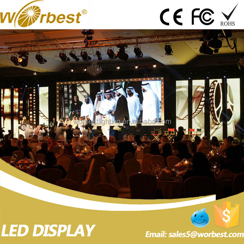 Shenzhen factory outdoor led dispaly full color p4.81 rental led screen