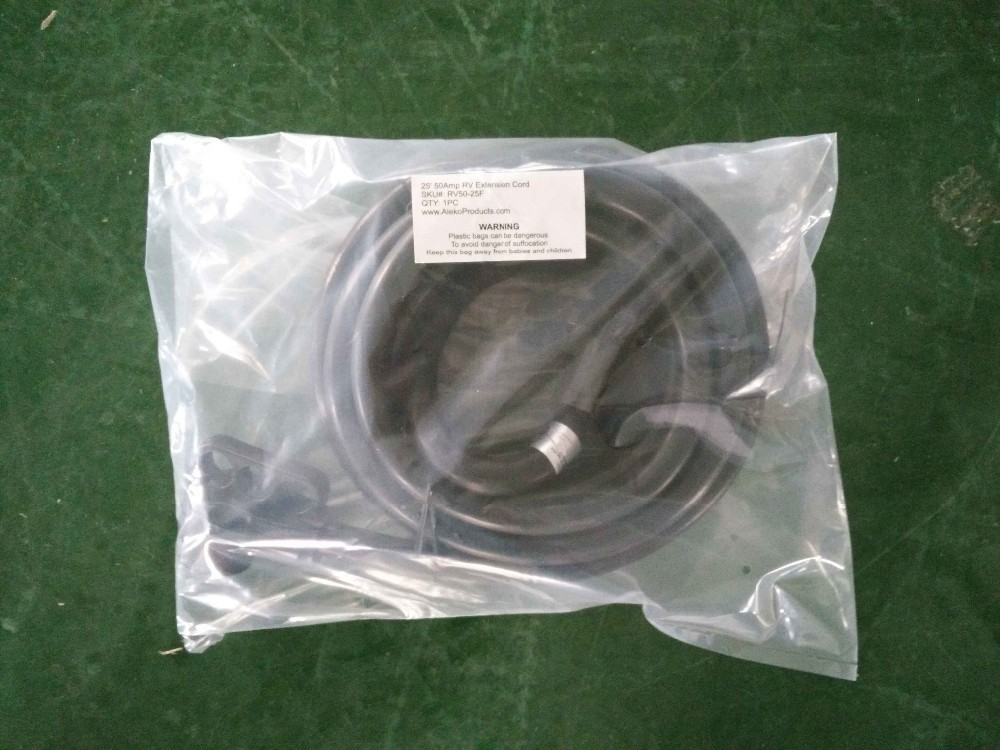 S10317 RV30-25M 18 Inch 30 Amp Male to 30 Amp Female RV Power Extension Cord Locking Adapter