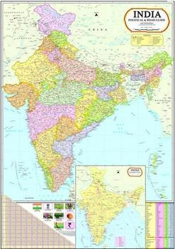 India Political Map - Buy India Map Product on Alibaba.com