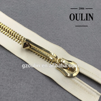 2019 hot selling zippers zinc alloy materials zippers with open end zippers with sliders