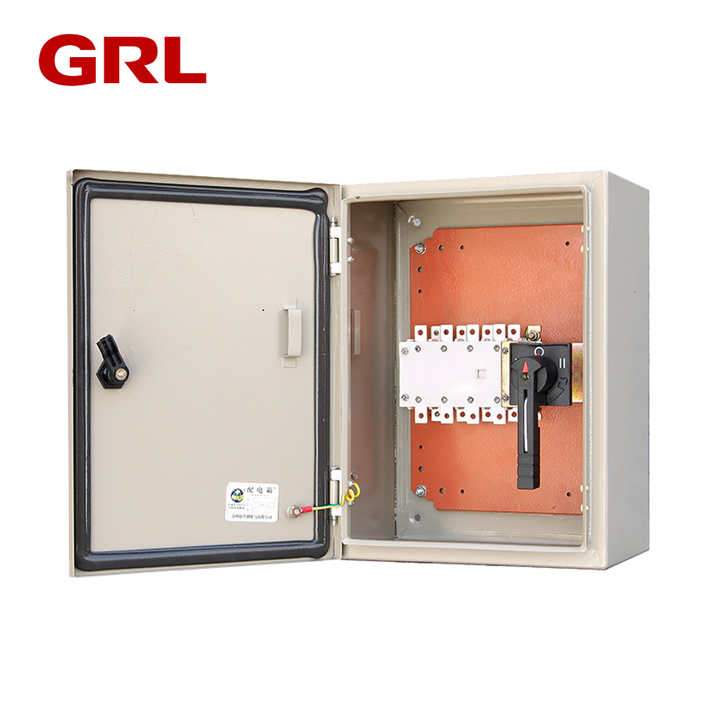 Electrical switch iron control Transfer Switch distribution panel box