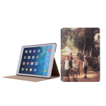 Custom OEM Flip PU Leather Tablet Cover for iPad 9.7, Pro, Mini 3 4 Stand Smart Case for iPad Case
