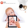 Indoor Wireless Remote Control HD PTZ WIFI IP Camera Baby Watching Camera