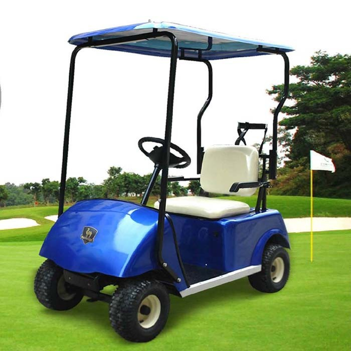 One Person Golf Cart >> Non Gas Powered Golf Cart With One Seat Dg C1 Pass Ce Approve Buy