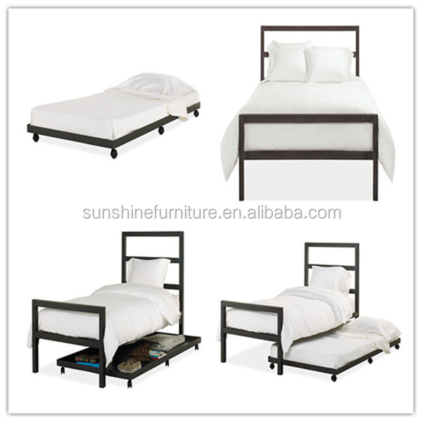 Double King Super Stainless Steel European Metal Sofa Bed Frame