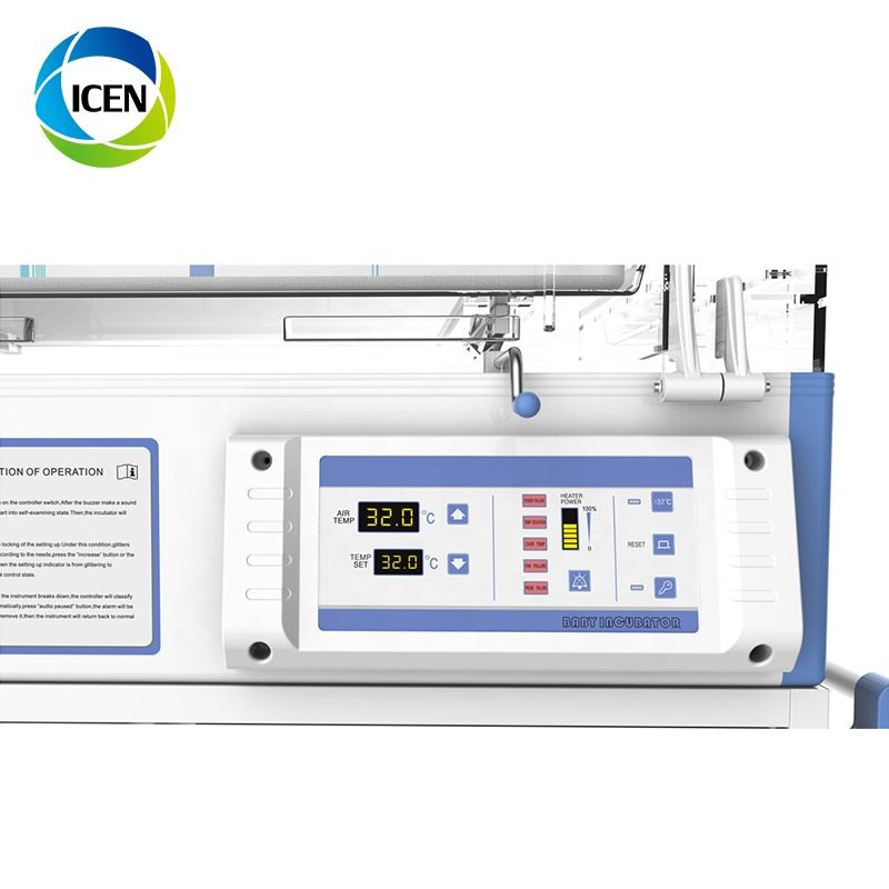 IN-F100 Atom Hospital Used Cheap Price Standard Infant Newborn Baby Infant Incubator For Sale