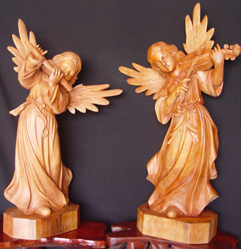 Wood Carving Angels Buy Wood Carving Angels Product On Alibabacom