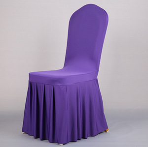 Wholesale cheap wedding spandex colorful chair cover and chair case