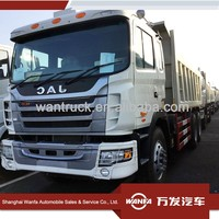 china used trucks supplier 40 tons loading 20cbm dump body 10 wheels 6*4 type right hand drive JAC NG80 tipper truck