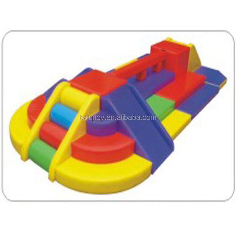Daycare indoor Baby indoor soft play equipment Eco-friendly Sponge Children Soft Play