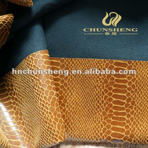 100% polyester gold print suede for car,home textile,dress clothing