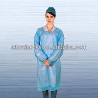 disposable non-woven gowns