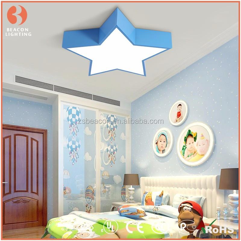 2016 Hot Sale New Design Cartoon Star Ceiling Light Design Lamp Star