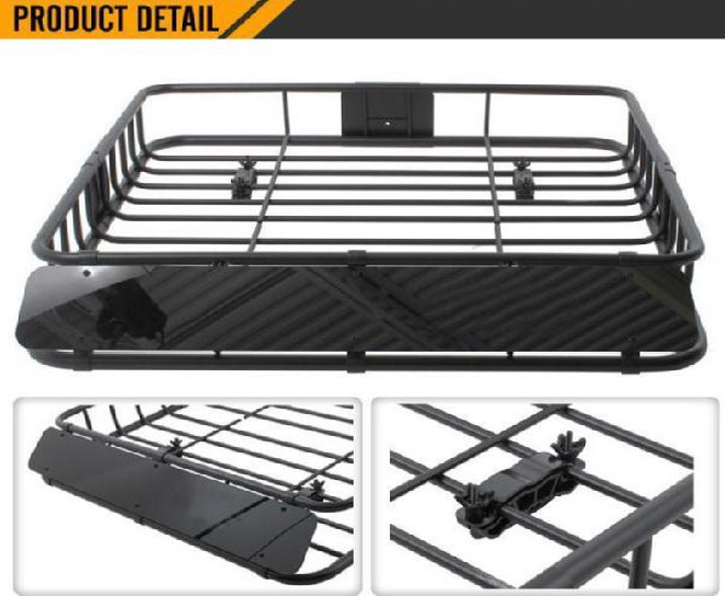 NEW CAR REMOVABLE SUV ROOF TOP RACK CARGO BOX CARRIER BAG FREE SHIPPING!