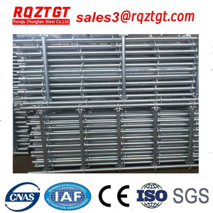 Steel Material scaffold prices ring lock bridge building