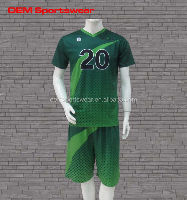 Conjunto Completo Diseño De Color Verde Fútbol Juvenil - Buy Fútbol ...