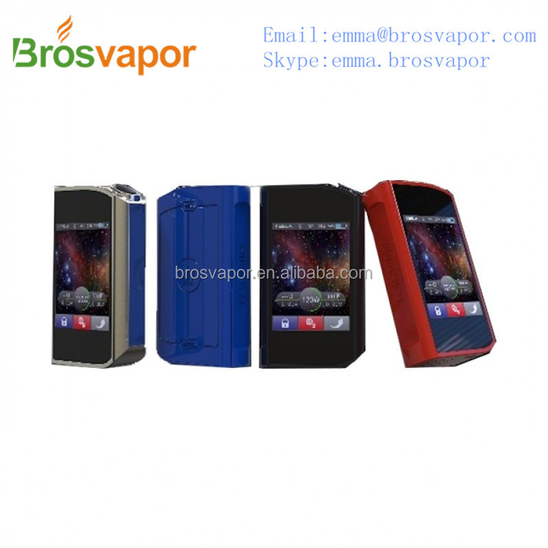 Original TESLA TESLACIGS Touch 150W TC Box Mod from brosvapor