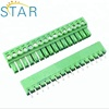 3.5mm male female electrical pluggable terminal block