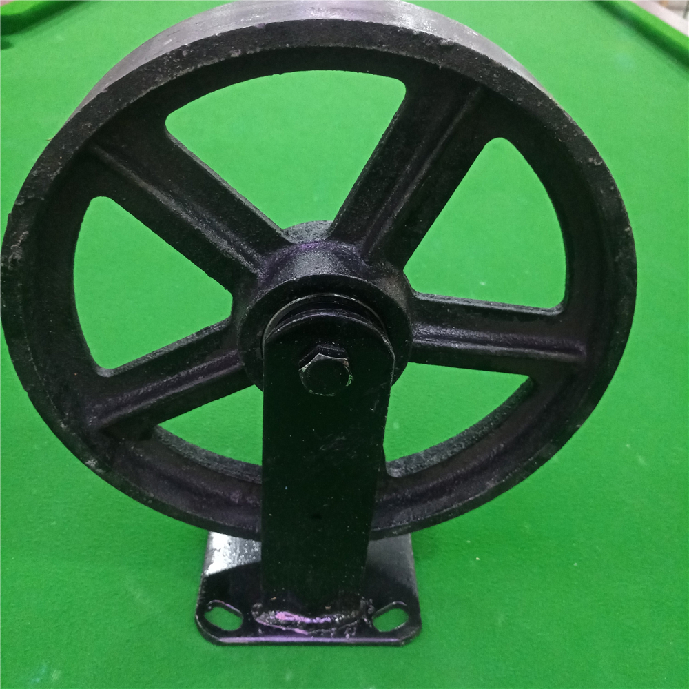 Heavy duty Iron caster/caster wheels/Cast iron caster for sale