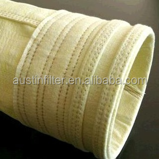FMS9806 material Dust filter bags used in dry gas scrubbing technology