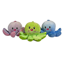 Soft Cartoon Octopus Stuffed Marine Animals Plush Toy for Baby