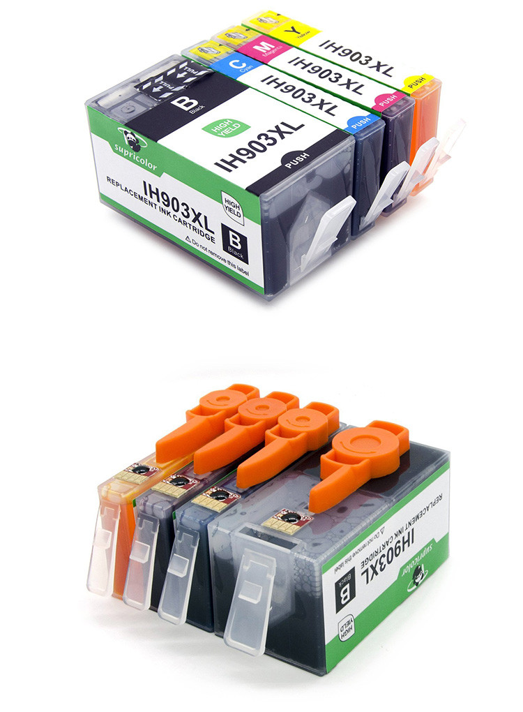 Supricolor Europe ink cartridge 903xl 907xl compatible for OfficeJet Pro 6960 /6970