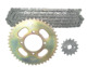 Steel Motorcycle Chain Kit 428-43T 428-15T428H-116L