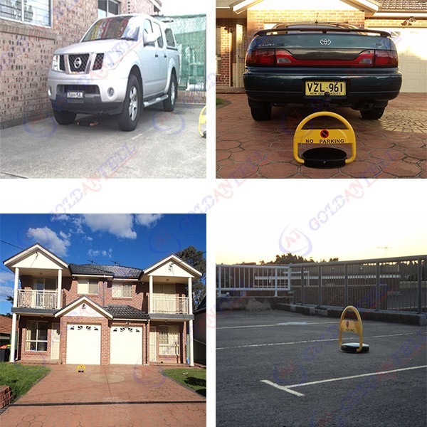 Car Theft Escape Parking: Anti-theft Intelligent Solar Parking Lock Manual & Remote