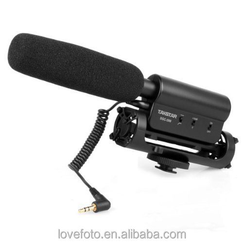 Original Takstar overcometh sgc-598 dv camera microphone Hotography Interviews VideoMic