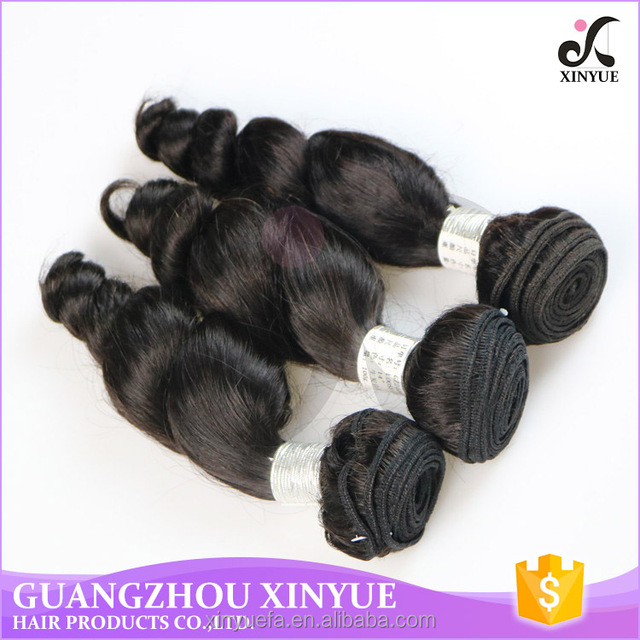 good quality peruvian human hair extensions loose wave with color 1B in europe