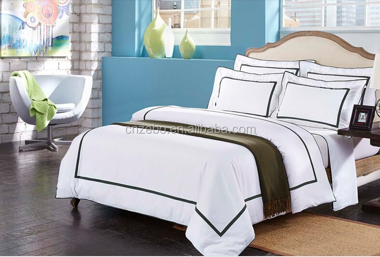 Egyptian Cotton Wholesale Pure White Plain Fabric Cheap Hospital Bed Sheet