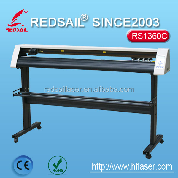 Redsail RS1360C cutting plotter to adapt to all kinds of specifications of paper / paper width more than similar models.