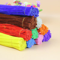 DIY children educational handwork toy plush craft pipe cleaners