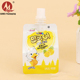 Wholesale aluminum foil stand up fruit juice liquid squeeze baby food packaging pouch with spout