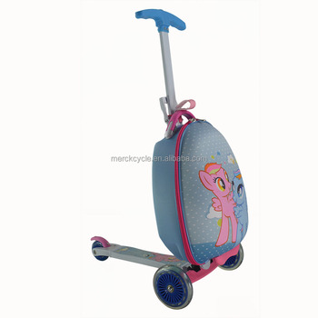 Oem Kids Children Love 3 Wheel Carry On Scooter Luggage Supplier ...